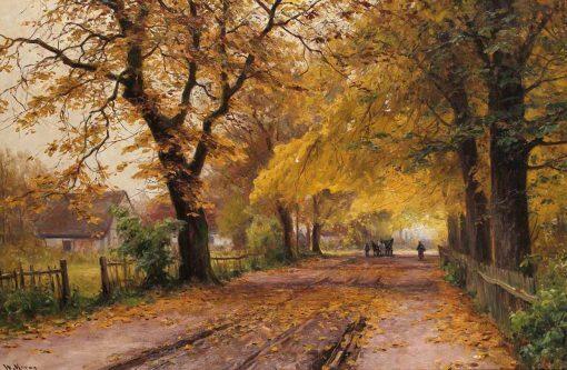 Camino en otoño de Walter Moras