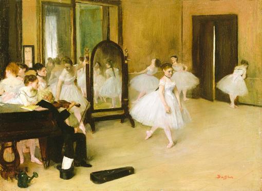 Clase de danza - Edgar Degas