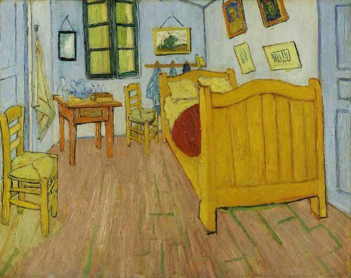 El dormitorio en Arlés - Vincent Van Gogh