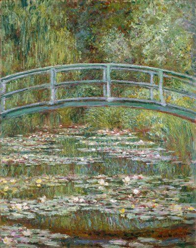 El estanque de ninfeas de Claude Monet