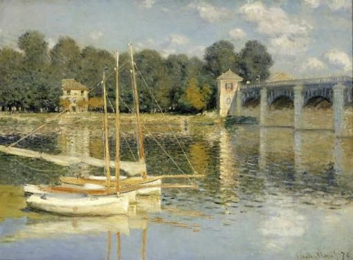El puente de Argenteuil - Claude Monet