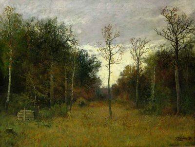 Claro del bosque - Eugen Dücker