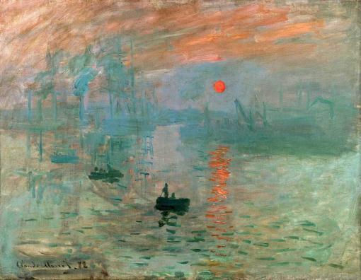 impresión sol naciente - Claude Monet