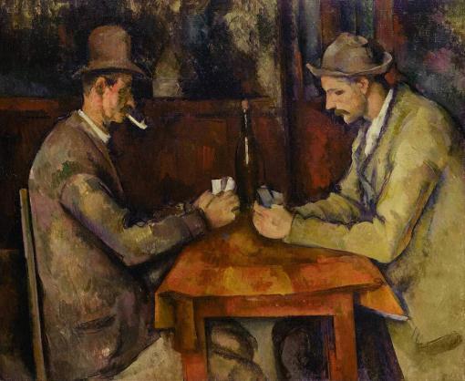 Jugadores de cartas - 5ª versión - Paul Cézanne