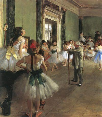 La clase de danza - Edgar Degas