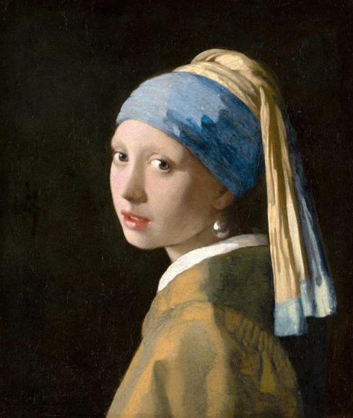 La joven de la perla - Johannes Vermeer
