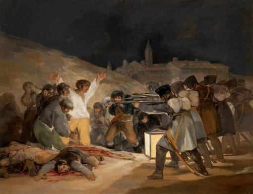 Los fusilamientos del 3 de mayo - Goya