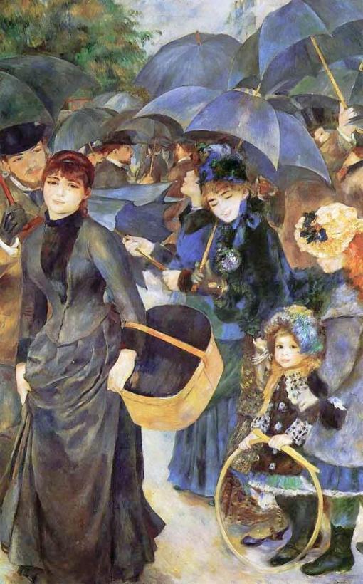 Los paraguas - Pierre-Auguste Renoir