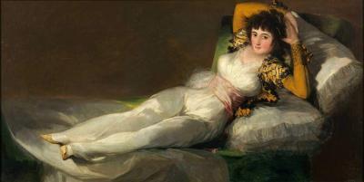 La maja Vestida de Goya
