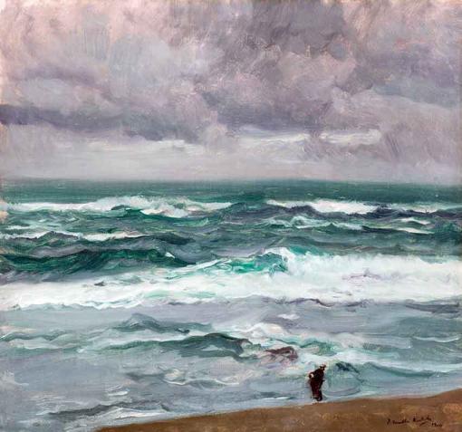 Mar embravecido - Joaquín Sorolla