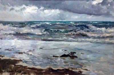 Marina nublada - Joaquín Sorolla