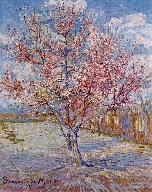Melocotonero en flor - Vincent Van Gogh