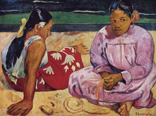 Mujeres de Tahití - Paul Gauguin