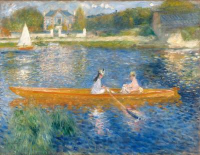 Paseo en bote en la sena - Renoir