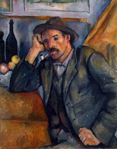 Fumador de pipa - Paul Cézanne