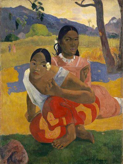 ¿Cuándo te casas? - Paul Gauguin