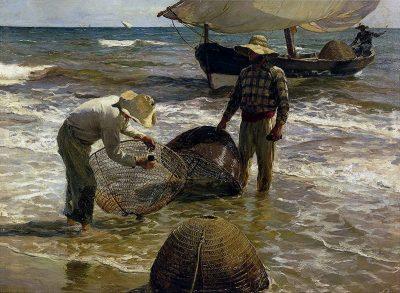 Pescadores valencianos - Joaquín Sorolla