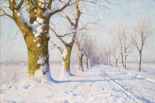 Un soleado día de invierno - Walter Moras