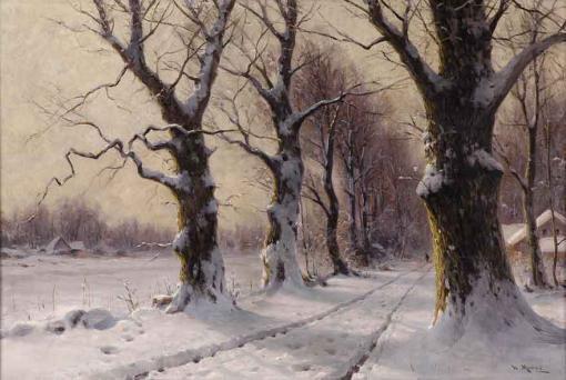 Día de invierno - Walter Moras