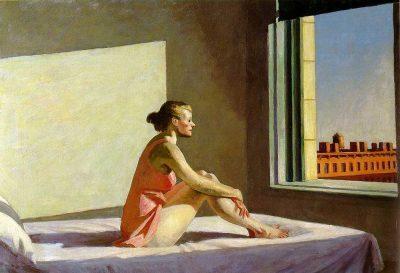 Sol de la mañana - Edward Hopper