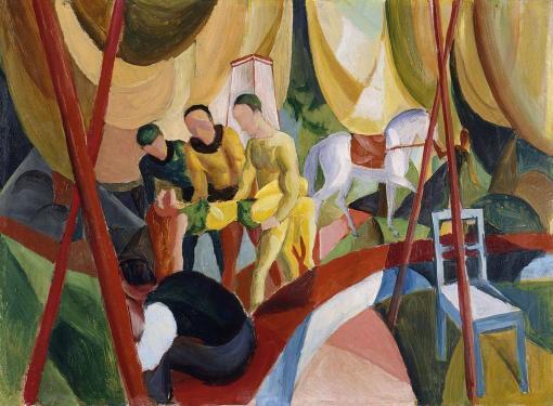 El circo de August Macke
