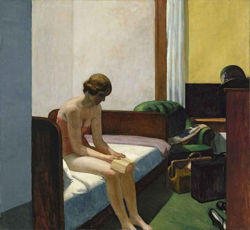 Habitación de hotel - Edward Hopper