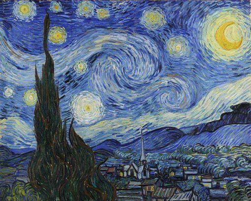 La noche estrellada de Van Gogh