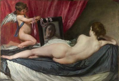 Venus del espejo - Velázquez