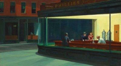 Noctámbulos - Edward Hopper
