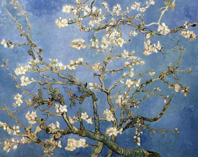 Ramas de almendro en flor de Vincent Van Gogh