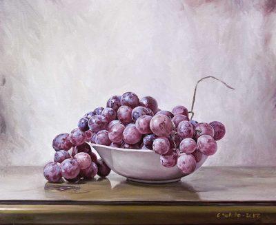 uvas bodegones, cuadros originales