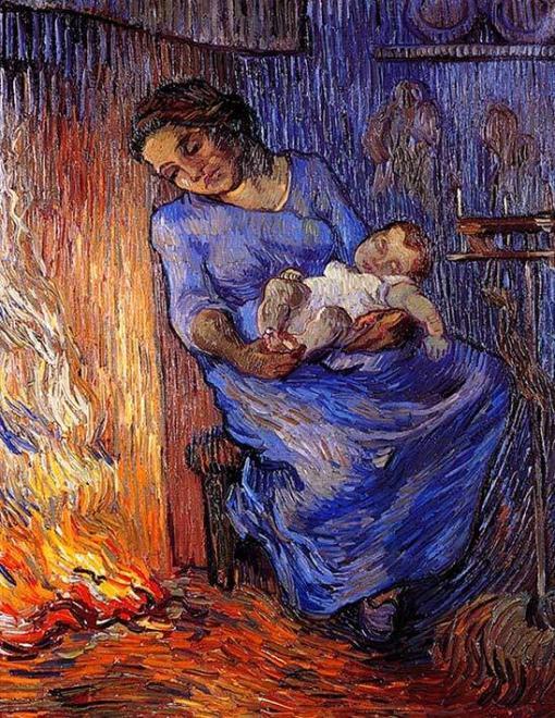 El marido está en el mar - Vincent Van Gogh