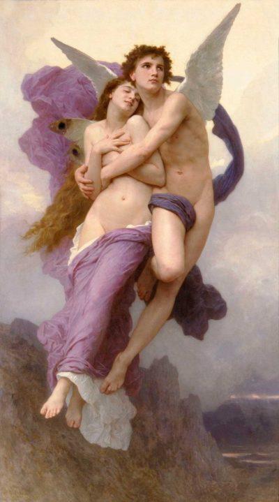 El rapto de Psique William Adolphe Bouguereau
