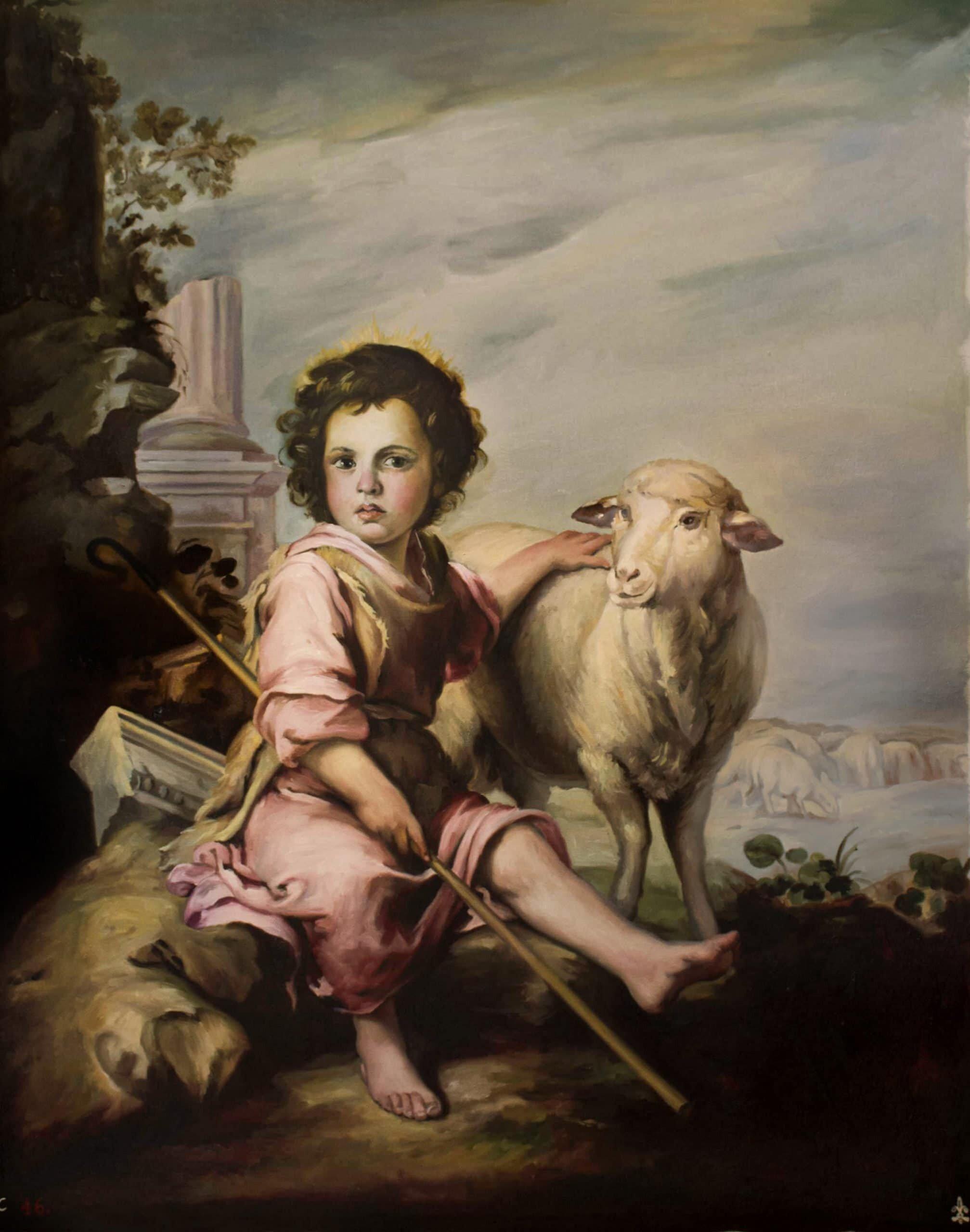 El buen pastor de Murillo