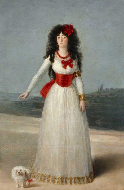 Retrato de la duquesa de Alba de Goya