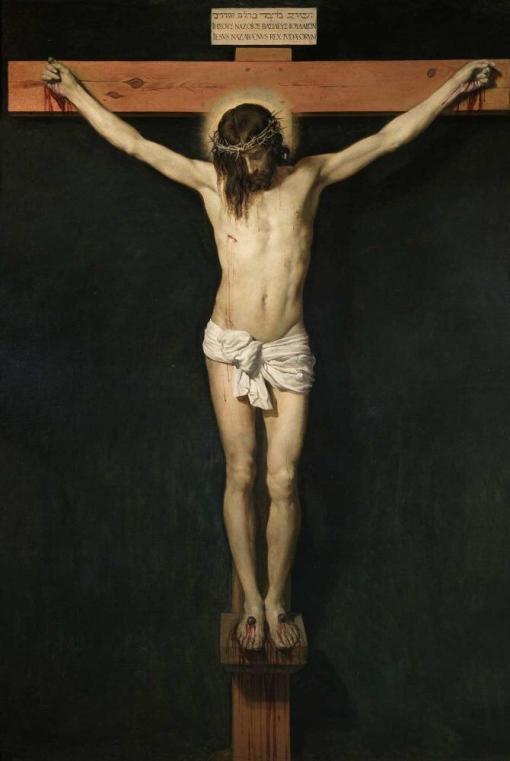 Cristo crucificado de Velázquez
