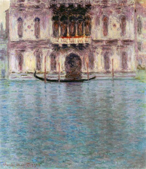 Palais Contarini del Zaffo à Venise - Claude Monet