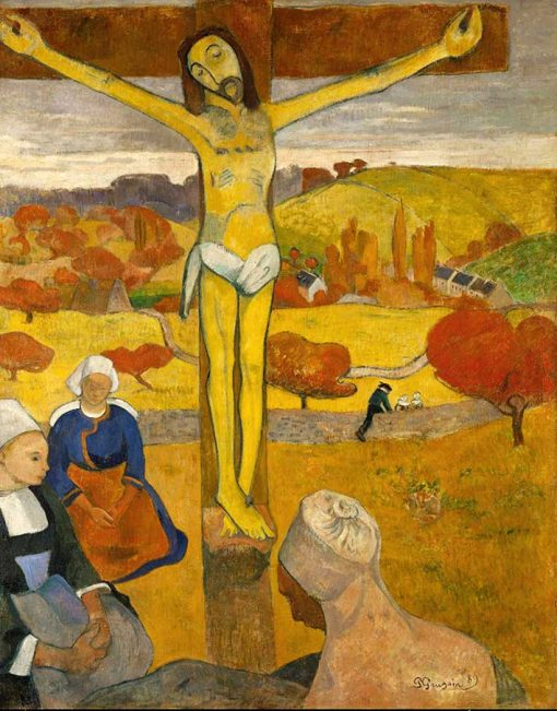 El cristo amarillo de Paul Gauguin