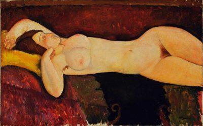 Desnudo recostado de Amedeo Modigliani