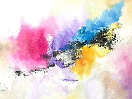 Cuadro abstracto por Copiamuseo