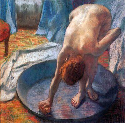 El barreño de Edgar Degas