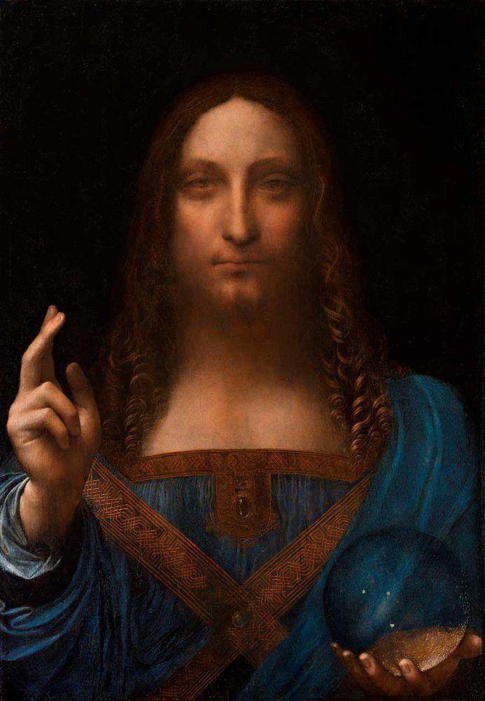 El Salvador del Mundo de Leonardo da Vinci