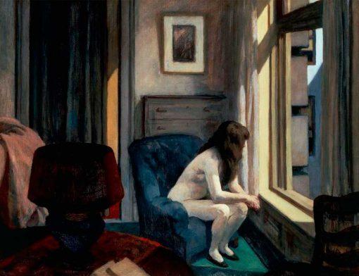 Once de la mañana de Edward Hopper