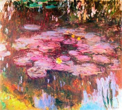nenufares-2 de Claude Monet