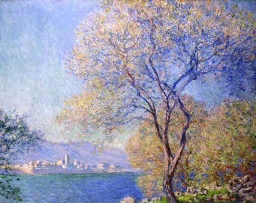 Antibes visto desde La Salis de Claude Monet