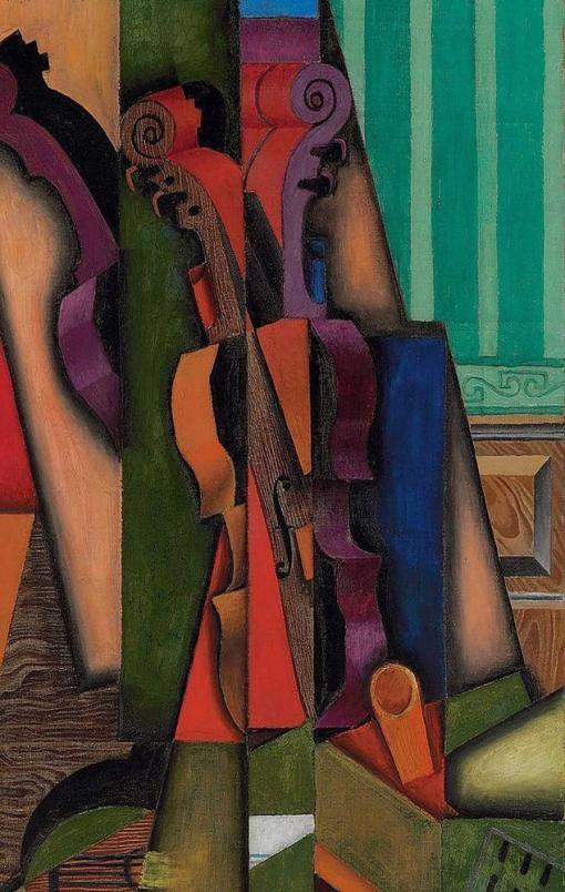 Violín y guitarra de Juan Gris