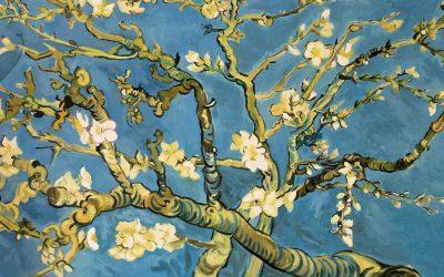 Ramas de almendro en flor de Van Gogh