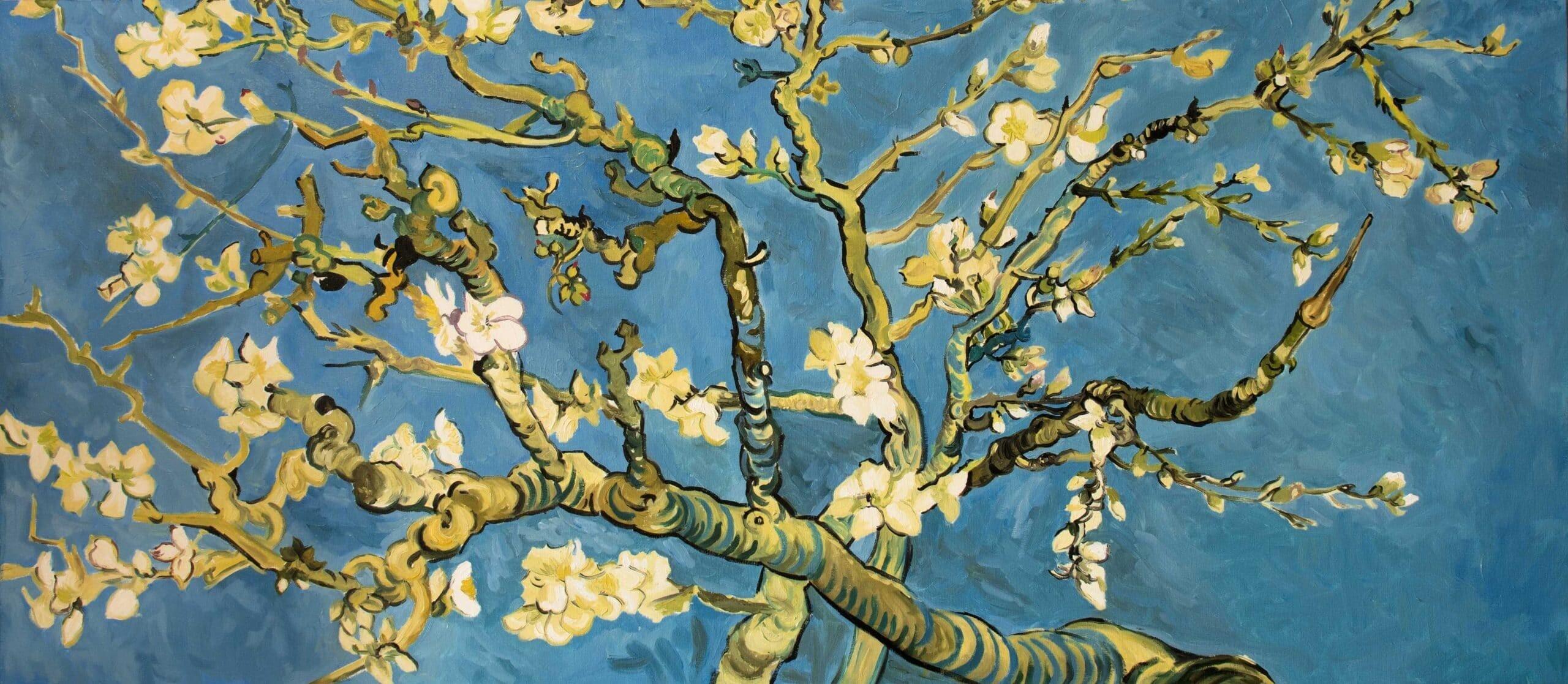 Ramas de almendro en flor, blog - cuadros al óleo