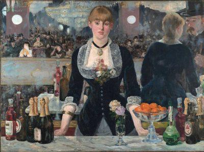 Un bar en el Folies Bergère de Edouard Manet
