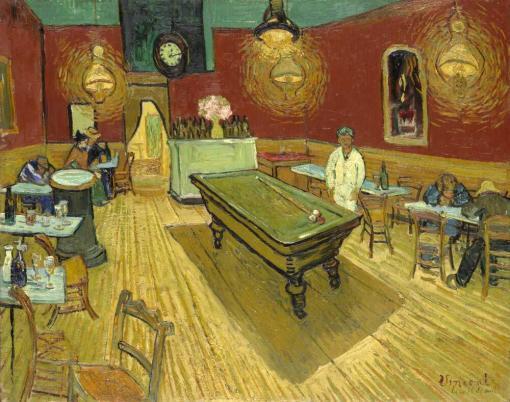 El café de noche de Van Gogh